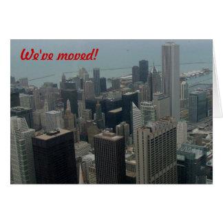 Carte Nous nous sommes déplacés - à Chicago