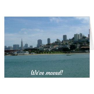 Carte Nous nous sommes déplacés - à San Francisco