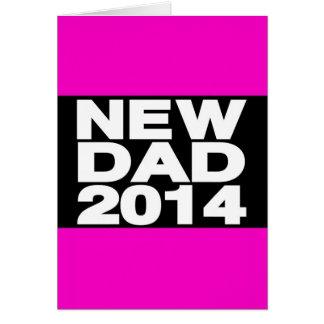 Carte Nouveau rose 2014 d'atterrisseur de papa