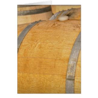Carte Nouveaux barils de vin de chêne