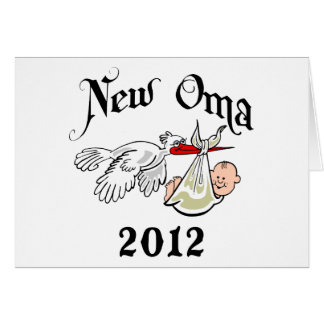 Carte Nouvel Oma 2012 T-shirts
