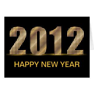 Carte Nouvelle année 2012