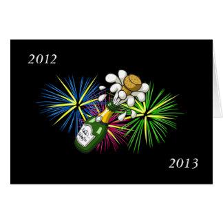 Carte Nouvelle année 2012-2013