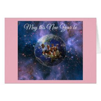 Carte Nouvelle année de la terre