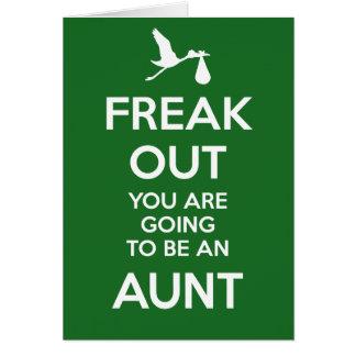 Carte Nouvelle tante Pregnancy Announcement