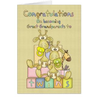 Carte Nouvelles félicitations de bébé pour
