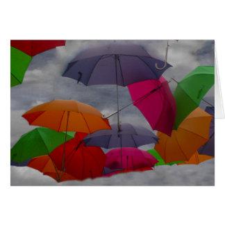 Carte Nuageux avec une possibilité des parapluies