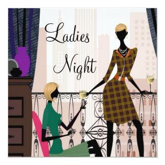 Carte Nuit élégante de dames