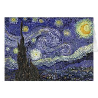 Carte Nuit étoilée