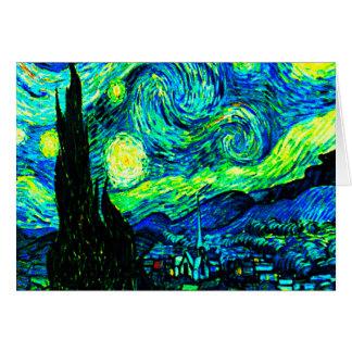 Carte Nuit étoilée de Vincent van Gogh augmentée