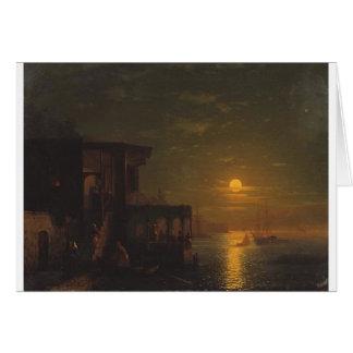 Carte Nuit lunaire à la mer par Ivan Aivazovsky