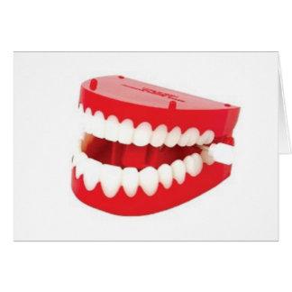 Carte Obtenez bien les dents bientôt de vibration