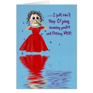 Carte OBTENEZ LE PUITS - en pleurant une rivière