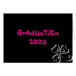 Carte Obtention du diplôme 2005