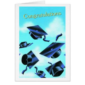 Carte Obtention du diplôme-Félicitations