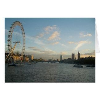 Carte Oeil et Parlement de Londres