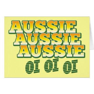 Carte Oi australien australien australien d'oi d'oi