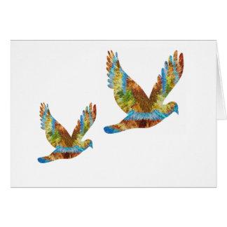 Carte Oiseau chanceux d'ange : Récompenses de la tasse n