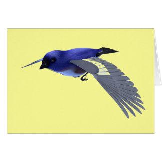 Carte Oiseau chanteur