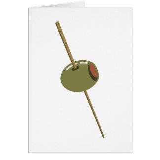 Carte Olive vous (je t'aime) Valentine romantique drôle