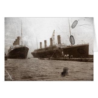 Carte Olympique et titanique