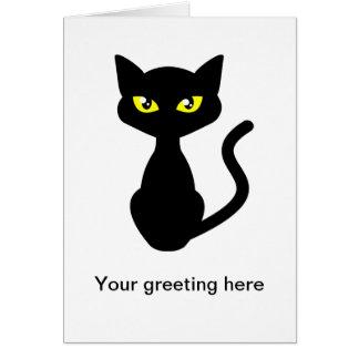 Carte Ombragez le chat noir