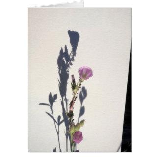Carte Ombre 2014 de fleur sauvage