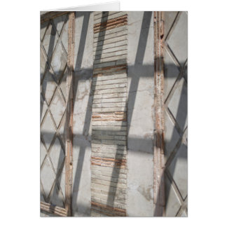Carte Ombres contre un mur