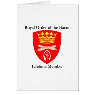 Carte Ordre royal du lard