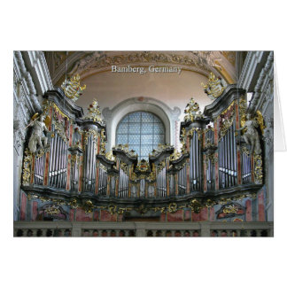 Carte Organe de Bamberg