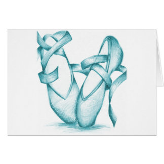 Carte Orteil-Chaussures turquoises
