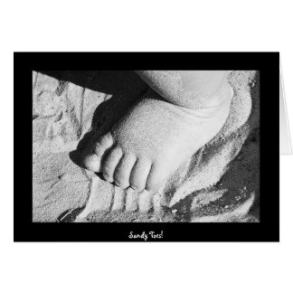 Carte Orteils de Sandy !