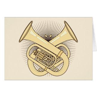 Carte Os croisés de tuba