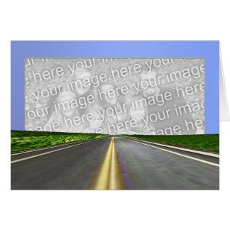 Carte Ouvrez la route (le cadre de photo)