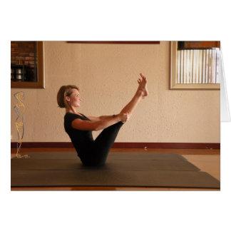 Carte Ouvrez le balancier de jambe