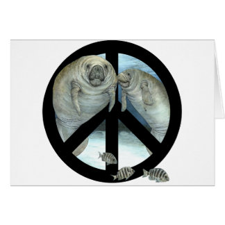 Carte paix de lamantin