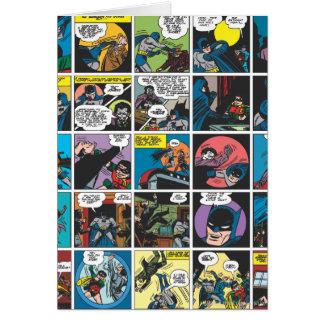 Carte Panneau comique 5x5 de Batman