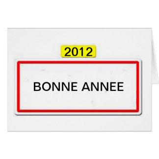 CARTE PANNEAUX BONNE ANNEE 2012