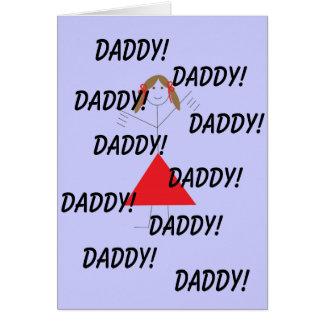 Carte Papa ! , Papa ! , Papa ! , Papa ! , Papa…