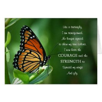 Carte Papillon de monarque