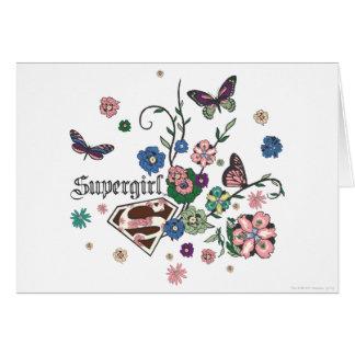 Carte Papillons de Supergirl