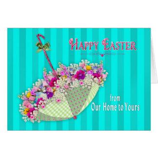 Carte Pâques, de notre maison au vôtre -