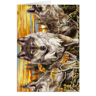 Carte Paquet de fonctionnement de loups