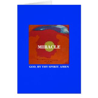 CARTE PAR THY ESPRIT - 1118 - MIRACLE