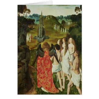 Carte Paradis de la fontaine symbolique