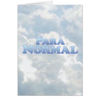Carte Paranormal - Mult-Produits