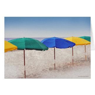 Carte Parapluies de plage
