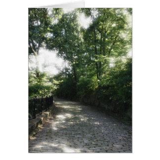 Carte Parc de Schenley, Pittsburgh, PA