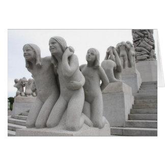 Carte Parc de sculpture en Vigeland I