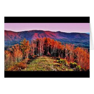 Carte Parc d'état de montagne de fort, la Géorgie